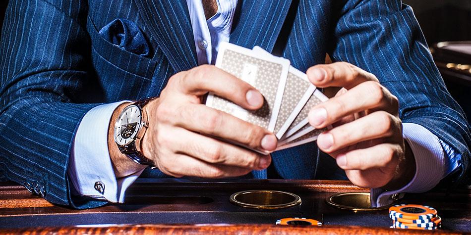 Olika kortspel i online casinon